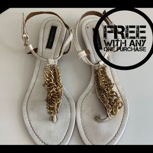 ❤️❤️FREE ❤️ Zara Sandals,With Any One Purchase